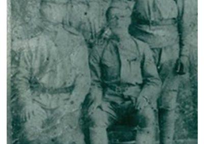 Srpski dobrovoljci u Odesi, 1916 god, moj pradeda Maksim ( na slici stoji prvi s leva)